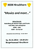 "Konzert ""Movies and more .."""